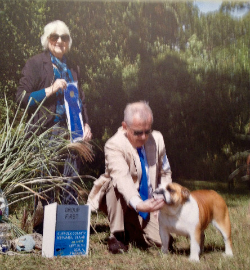 CHEROKEE LEGEND ANNIE OAKLEY Suffolk County Kennel Club Non-Sporting Group First (from the classes)