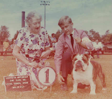 CH. CHEROKEE MORGAN winning Group First at the Southern Adirondack Kennel Club